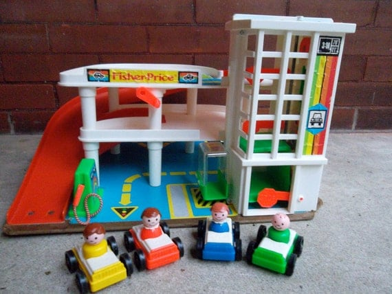 Fisher Price Action Garage