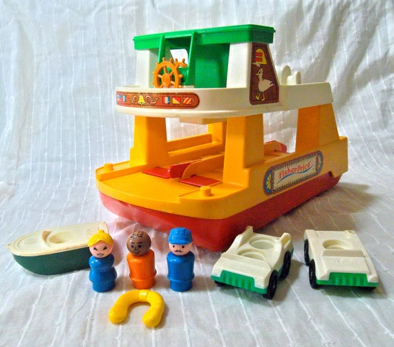 Vintage Fisher Price Ferry Boat