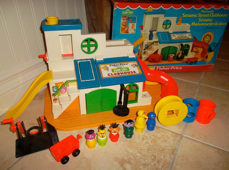 Sesame Street Toys : Fisher price sesame street clubhouse
