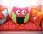 HOOty Owl Pillow Friend