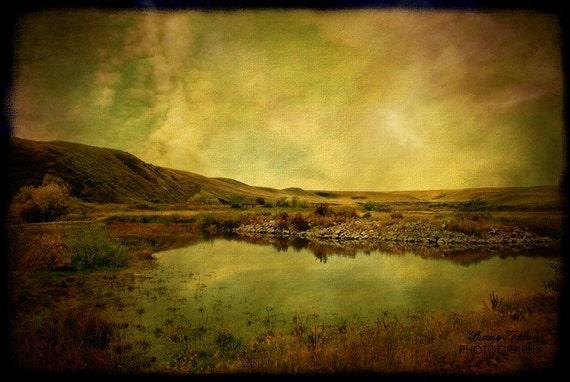 Prairie Oasis  12x18 Fine Art Photo