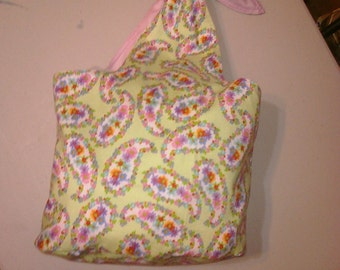Small tote hobo style, light-weight