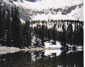 Teresa Lake and Wheeler Peak - Great Basin National Park