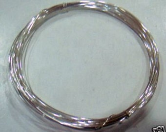 DIY 925 Pure Sterling Silver Craft Wire 0.5mm 24 gauge for Jewelry making and crafts Findings