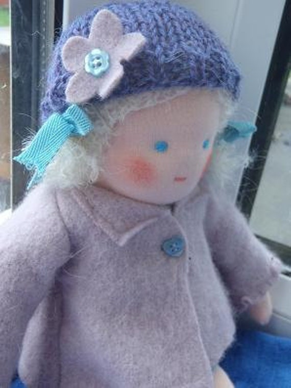 Little Aisling  11 inch Waldorf Doll