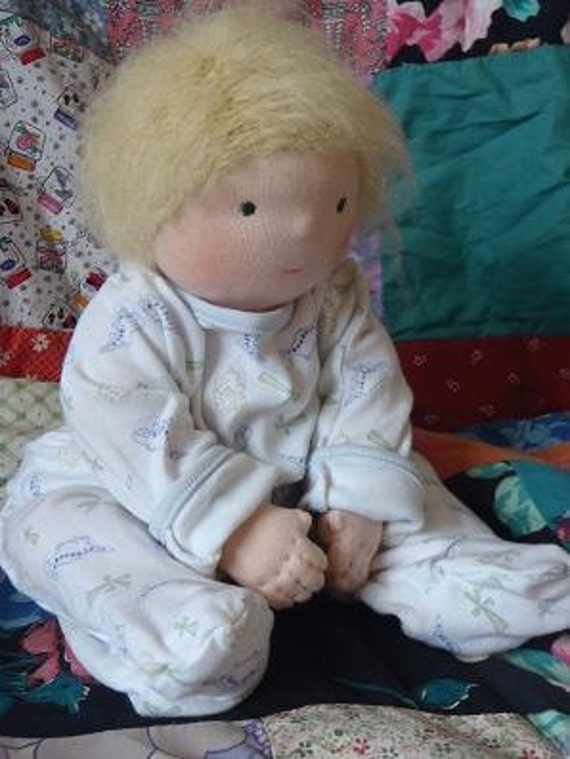 custom waldorf baby doll reserved for Catherine