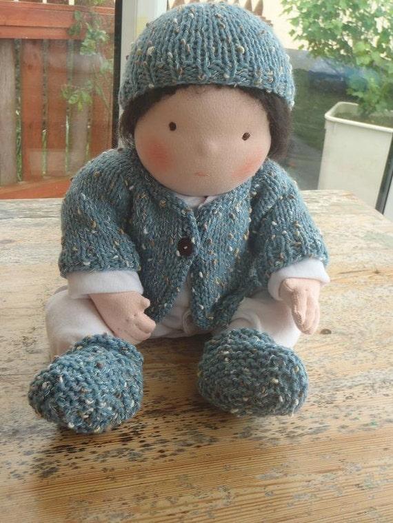 Reserved Tobias' waldorf baby doll