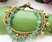 Hippie Summer Bracelet and Aventurine Stone