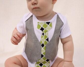 Baby boy Christmas shirt and shoes, Christmas Tie shirt, boy tie shirt