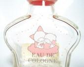 The Perfume Little Twin Stars Glass Bottle.1976
