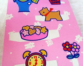 Hello Kitty. Paper Dolls. Sanrio 1988