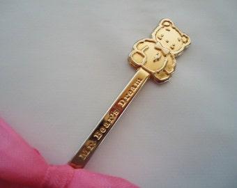 Sanrio Charm Spoon.1985.Fancy Friends