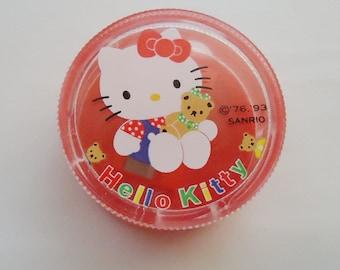 1993 Hello Kitty Cased Pencil Sharpener.
