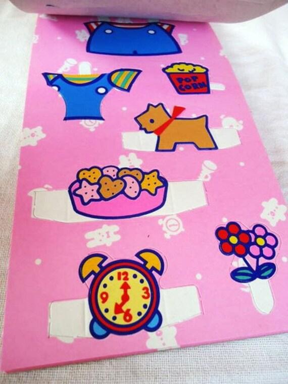 Hello Kitty. Paper Dolls. Sanrio 1988