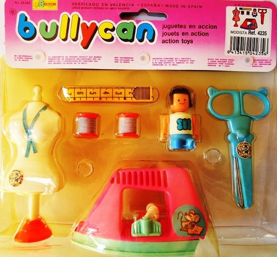 80s Toy. Sewing Set.In the original Package