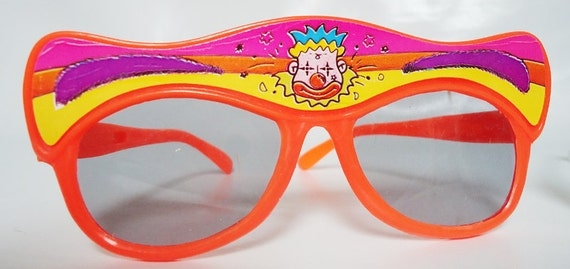 Two 80s Funny Sunglasses