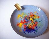 Vintage Colorful Ashtray