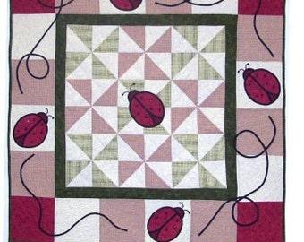 Ladybug Quilt Pattern