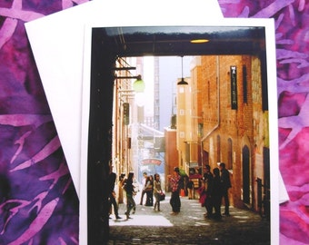 Pike Place Market, Post Alley  - Card - Blank Inside