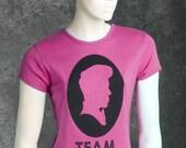 Small Pink Womens Team Mondo T-Shirt