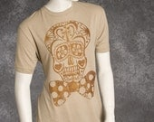 XX Large Day of the Dead Circus Printed Tee