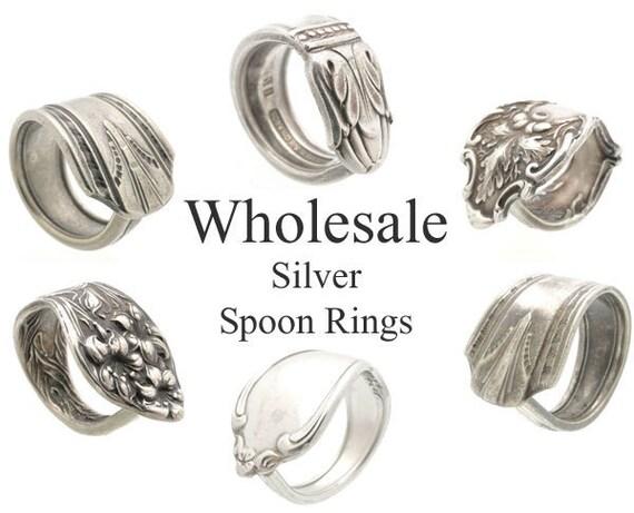 items similar to wholesale spoon rings 20 spoon rings