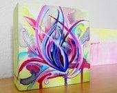 Graffiti Inspired Abstract Painting - Dragonheart
