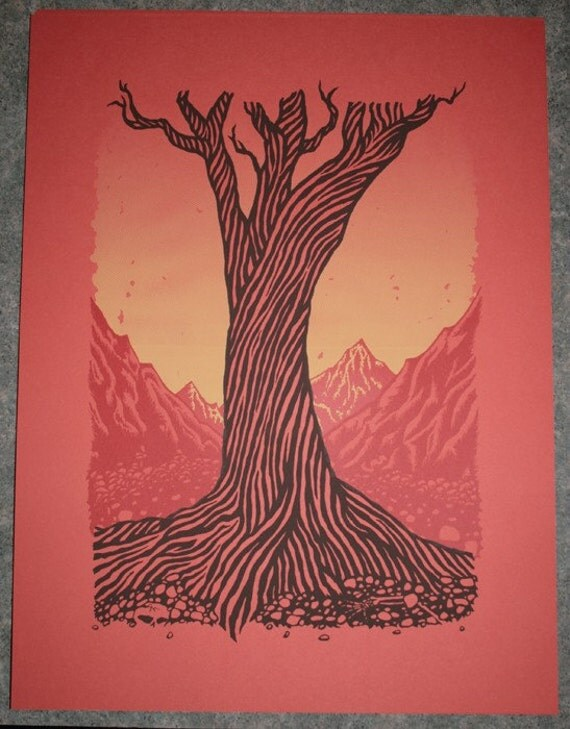 The Wise One - screen print