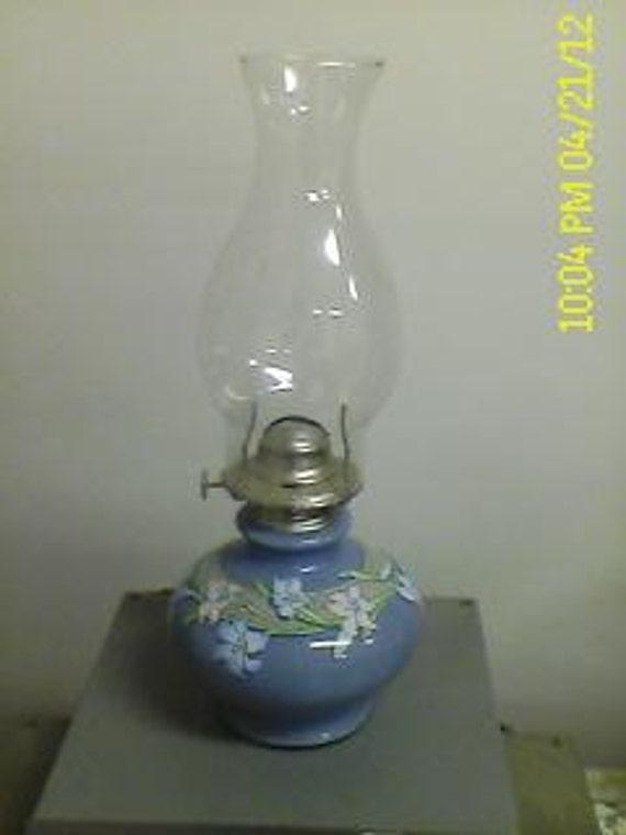 Vintage Kaadan,  Glass Oil Lamp