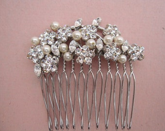 Bridal hair comb pearl wedding headpiece bridal hair jewelry wedding accessory bridal hair accessory wedding hair jewelry wedding hair comb