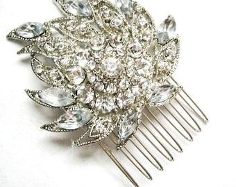 Bridal Comb,wedding comb, rhinestone comb,Bridal Hair Comb