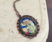The Enchantress - vintage inspired necklace