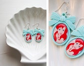 Ariel - cameo earrings