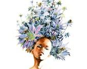 Fashion Illustration art print - Holly 10x12