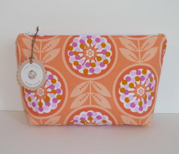 Cosmetic Bag - Peach Lollies