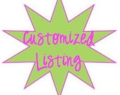 Customized Listing for Smiles1029