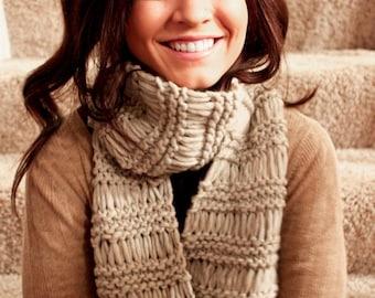 Scarf, Winter Accessories, Women's Scarf in Beige