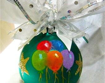 Celebration Hand Painted Ornament