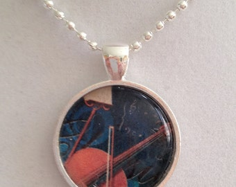 Music Pendant Necklace