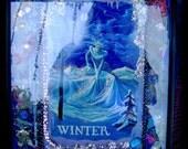 Winter Goddess Collage