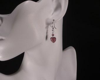 Valentine Heart Earrngs