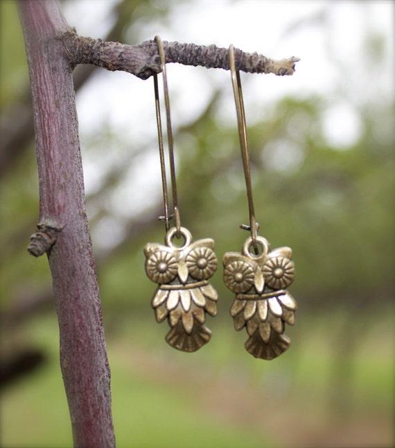 SALE Perfect OWL earrings