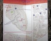 Custom Map for Wedding Invitation
