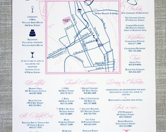 Wedding Weekend Itinerary and Locations