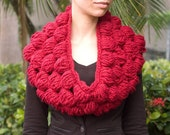 Crochet Bubble Cowl PDF Pattern