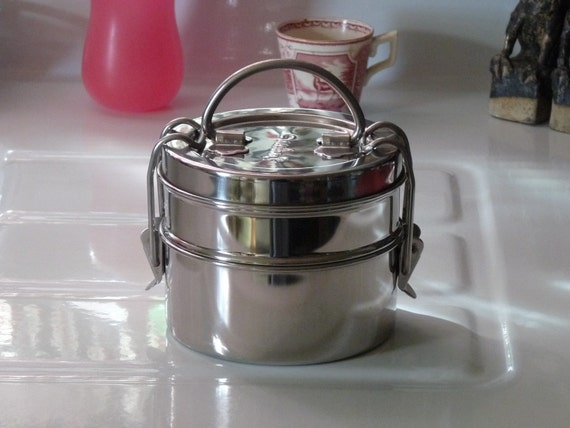 Sweet Little Stainless Steel Tiffin Stacking Lunch Box