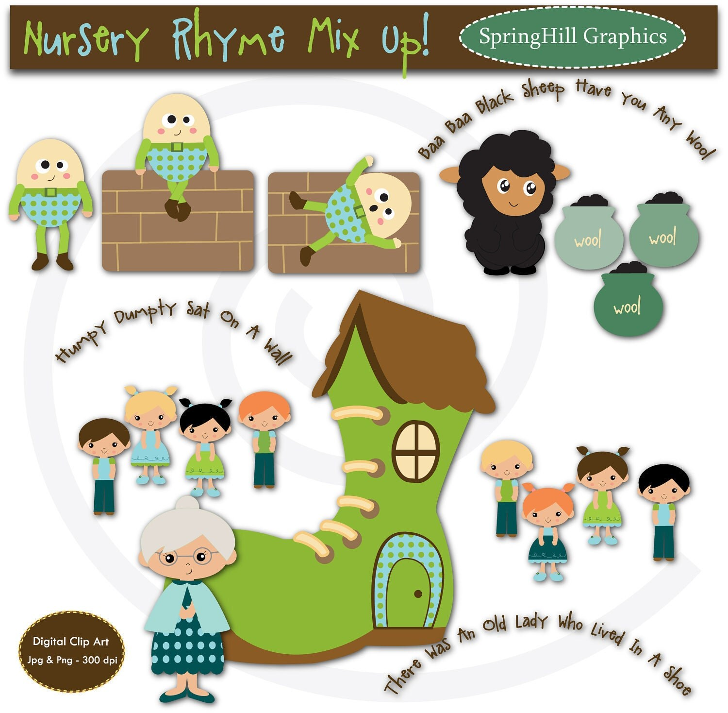 clipart pictures of nursery rhymes - photo #27