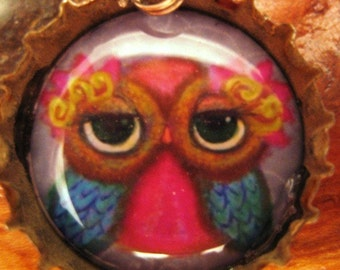 Adorable Owl Pendant:  Series 2