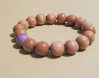 Yoga/ Meditation Bracelet:  Crown Chakra