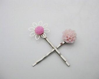 Pink Mum Bobby Pin Set  B-25